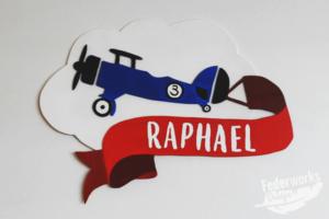 Türschild Raphael