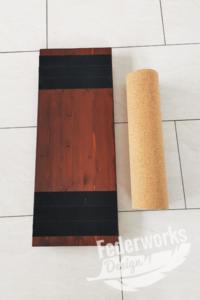 Balanceboard mit Rolle